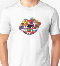 World Traveler Lips T-Shirt