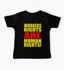 Workers Rights = Human Rights Kids Clothes