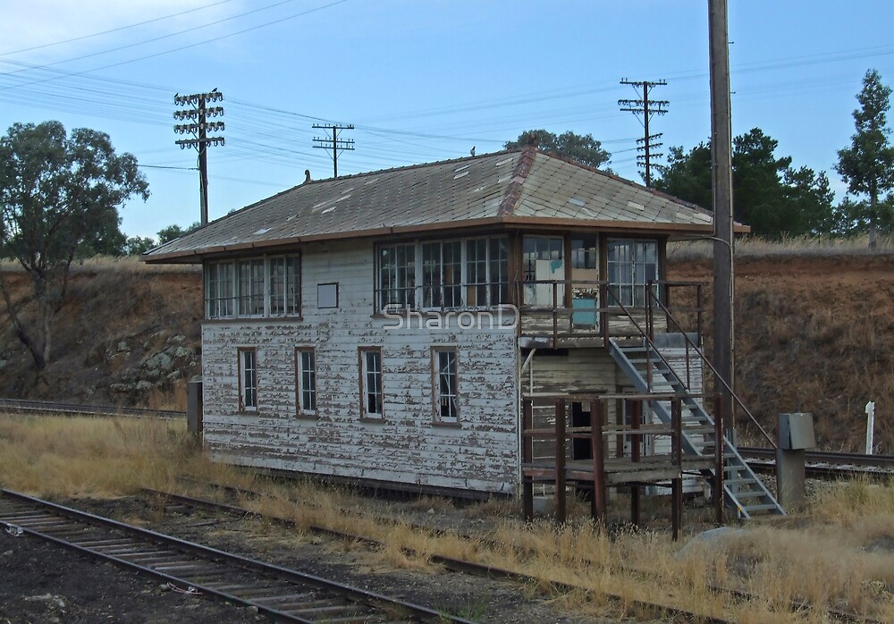 Old Railway Signal Box - Demondrille NSW by SharonD