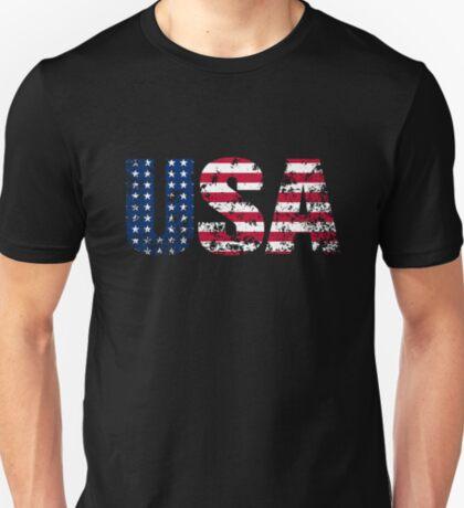 USA Distressed T-Shirt