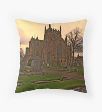 Dunfermline Abbey Throw Pillow