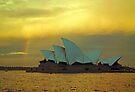 big house little rainbow.....  for Paul Keating esq..... by Juilee  Pryor