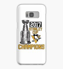 Pittsburgh Penguins Stanley Cup Champs 2017 Samsung Galaxy Case/Skin