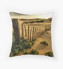 Provincetown Dunes Throw Pillow