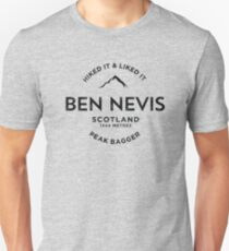 Ben Nevis Peak Bagger Slim Fit T-Shirt