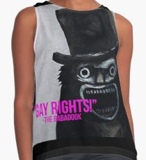 """Gay Rights"" -BabaDook 2017 Contrast Tank"