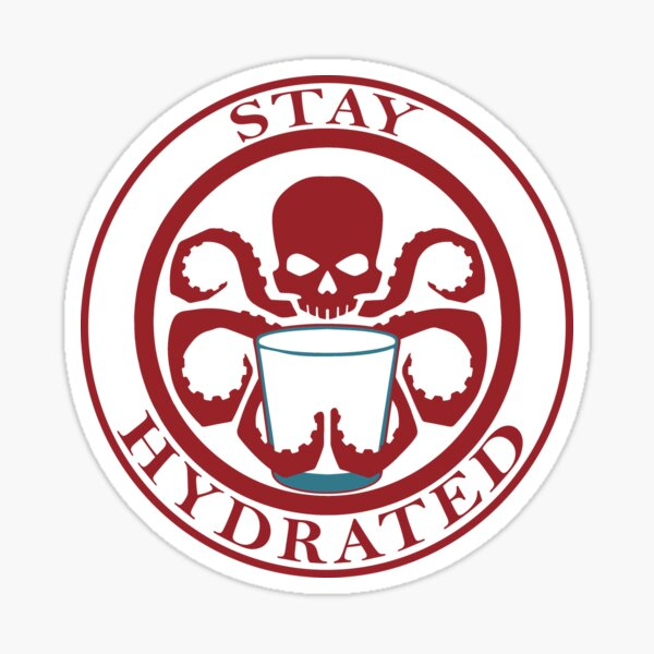 Stay Hydrated Sticker