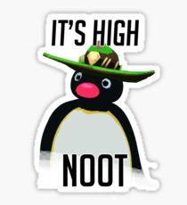 High Noot Sticker