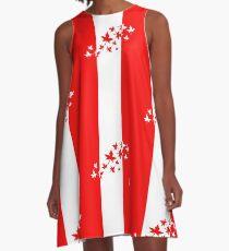 O Canada A-Line Dress