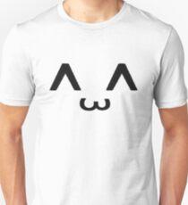 ^ ω ^ Unisex T-Shirt
