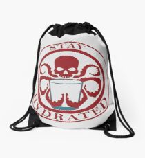 Stay Hydrated Drawstring Bag