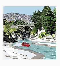 The Shotover River by Ira Mitchell-Kirk Photographic Print