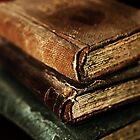 Stack Of Old Books by Evita
