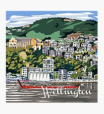 Wellington Harbour by Ira Mitchell-Kirk Photographic Print