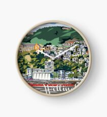 Wellington Harbour by Ira Mitchell-Kirk Clock