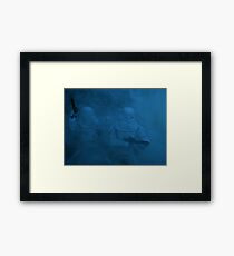 Storm on Hoth (dark version) Framed Print