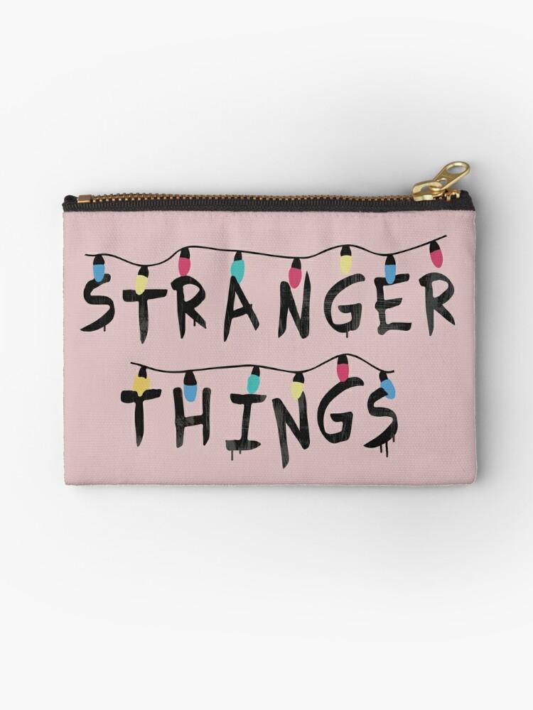 Stranger Things White Bulb Character Wallet.