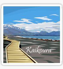 Kaikoura, New Zealand by Ira Mitchell-Kirk Sticker