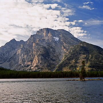 Mount Moran Across Jackson Lake by djlampkins