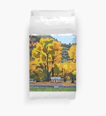 Arrowtown Gold Duvet Cover