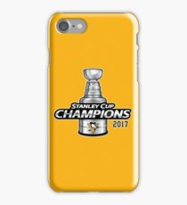 Pittsburgh Penguins Stanley Cup Champs 2017 iPhone Case/Skin