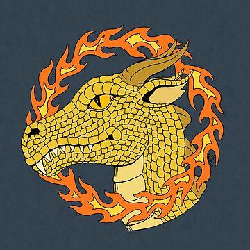 Dragon Enwreathed by RHFay