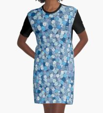 Frost Dice Graphic T-Shirt Dress