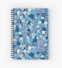 Frost Dice Spiral Notebook