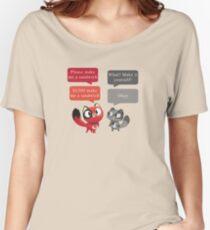 Make me a sandwich! Women's Relaxed Fit T-Shirt