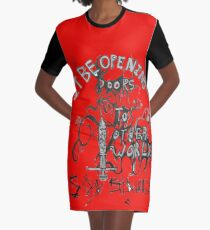 soy sauce Graphic T-Shirt Dress