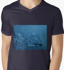 Storm on Hoth (light version) Men's V-Neck T-Shirt