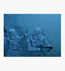 Storm on Hoth (light version) Photographic Print