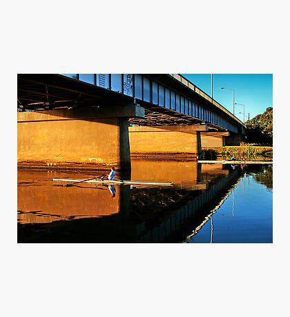 """Moorabool Street Bridge"" Photographic Print"