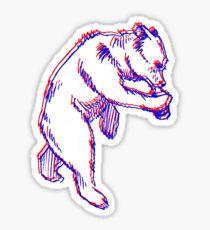 Drinky Bear Sticker