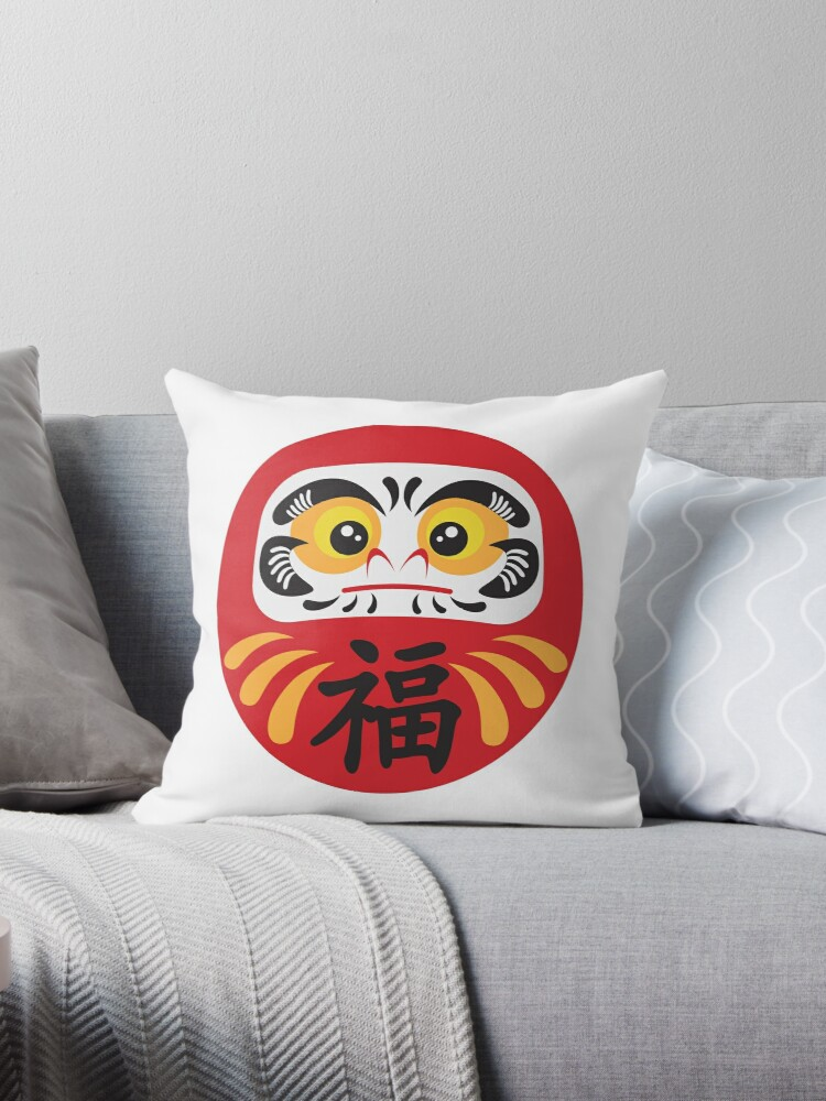 Japanese Daruma Doll Illustration
