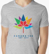 Canada 150 Men's V-Neck T-Shirt