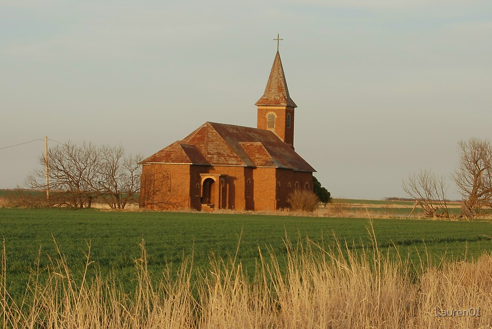 Little Church on the Prairie by Lauren01