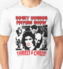 Rocky Horror Picture Show Cartoon Red Lips Unisex T-Shirt