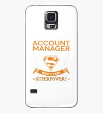 ACCOUNT MANAGER Case/Skin for Samsung Galaxy