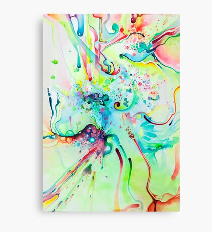 El Camino Acids - Watercolor Painting Canvas Print