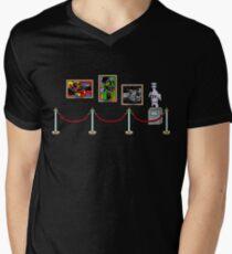 cartoon Men's V-Neck T-Shirt