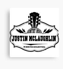 Justin McLaughlin Canvas Print