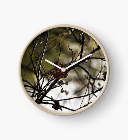 Still Hanging-Winter Series- Uhr