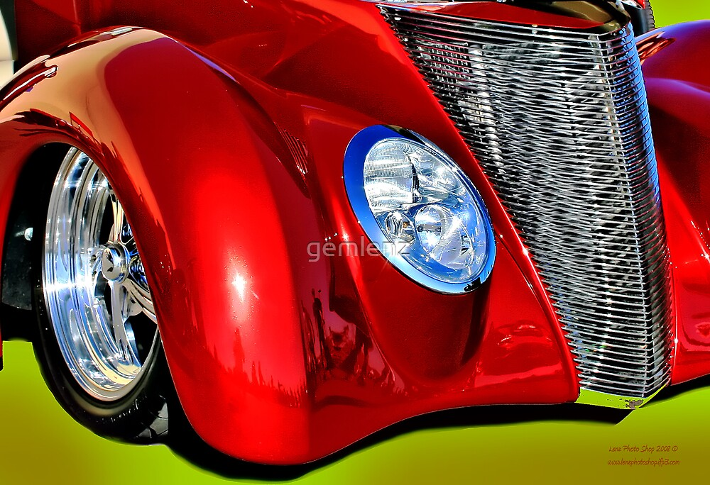 Red Hot And Silver by George Lenz