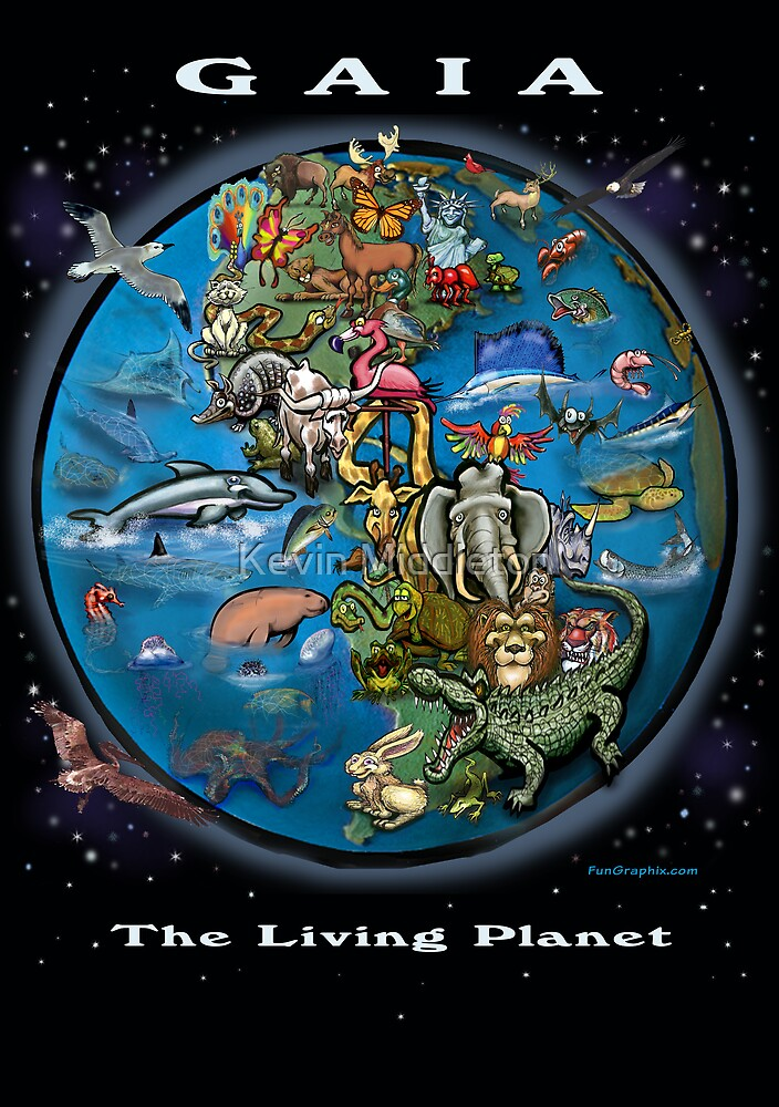 Gaia – The Living Planet by Kevin Middleton