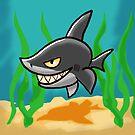 Toothy Shark by MikePaulArt