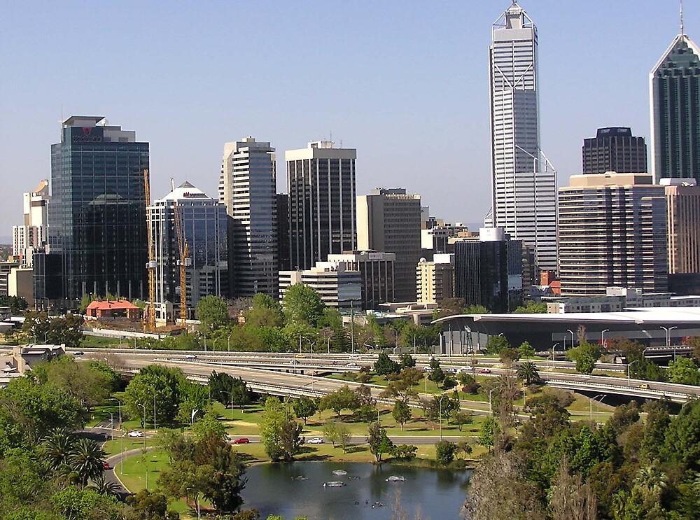 Perth CBD by georgieboy98