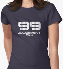 Aaron Judge from New York Yankees Judgement Day Women's Fitted T-Shirt