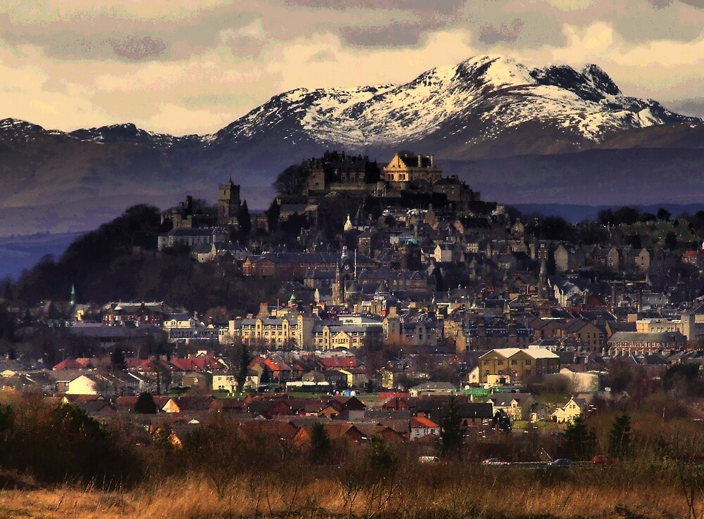Stirling Castle by davey lennox