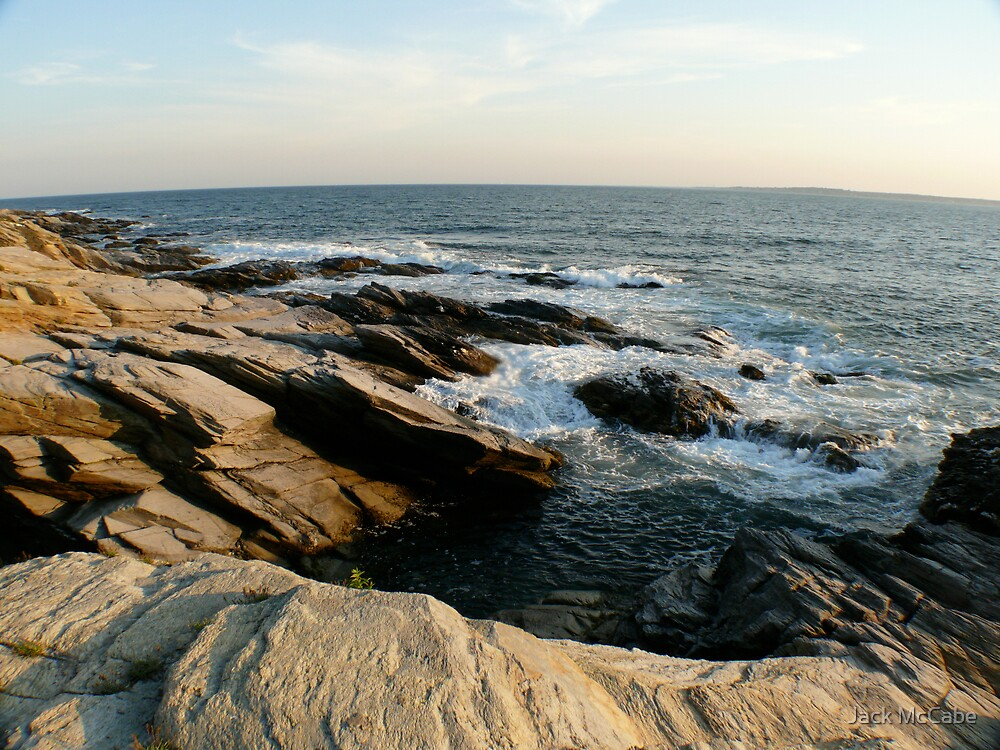 Beavertail Bluffs looking West by Jack McCabe